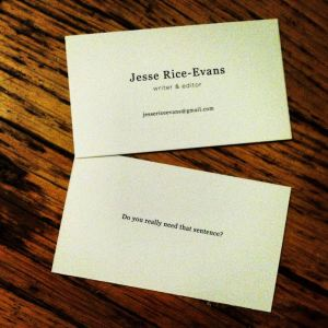 Business Cards McKenna Haley